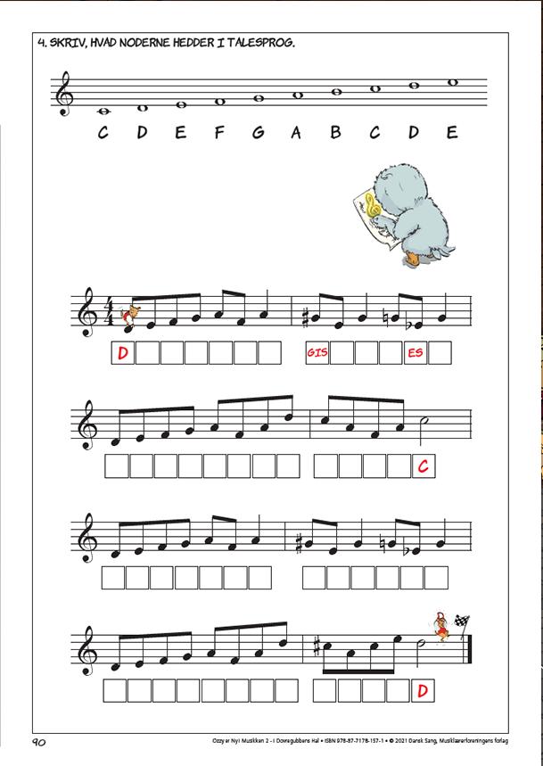 Ozzy er Ny i Musikken 2 øvelser